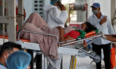 india covid ambulanza