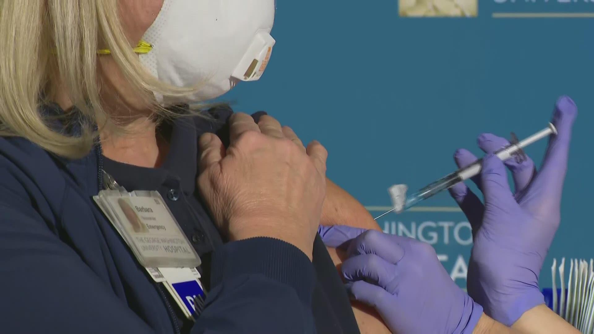 iniezione vaccino