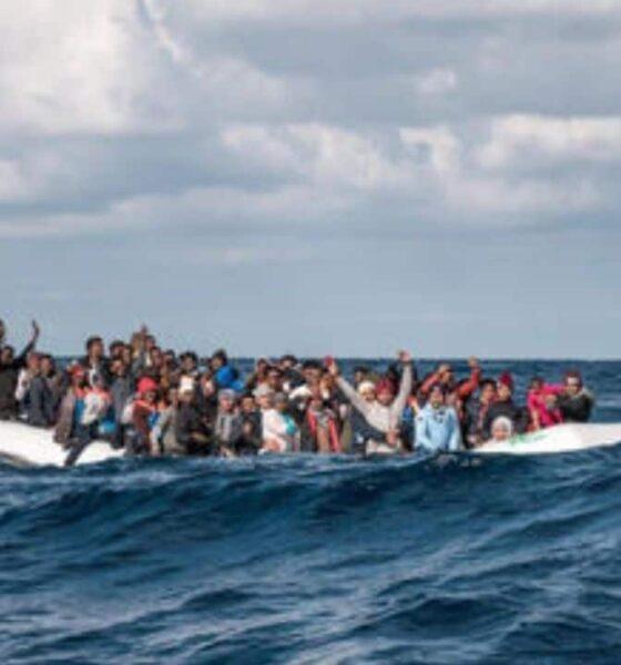 migranti mare lampedusa