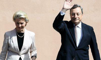 Draghi von der leyen roma