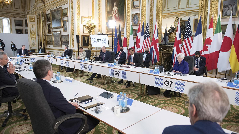 g7 finanze 2021