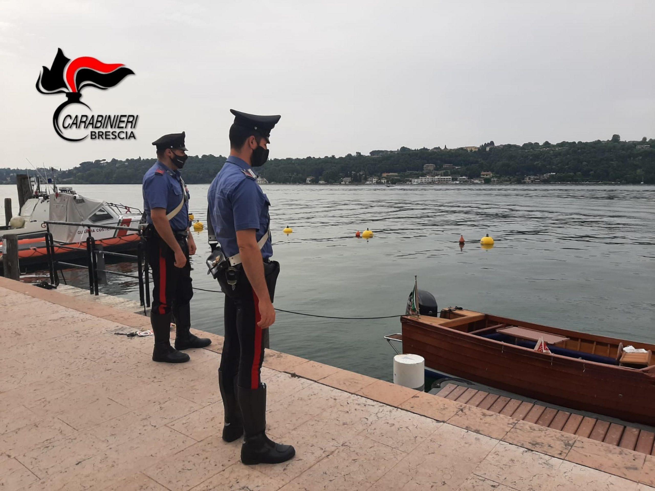 lago di garda carabinieri