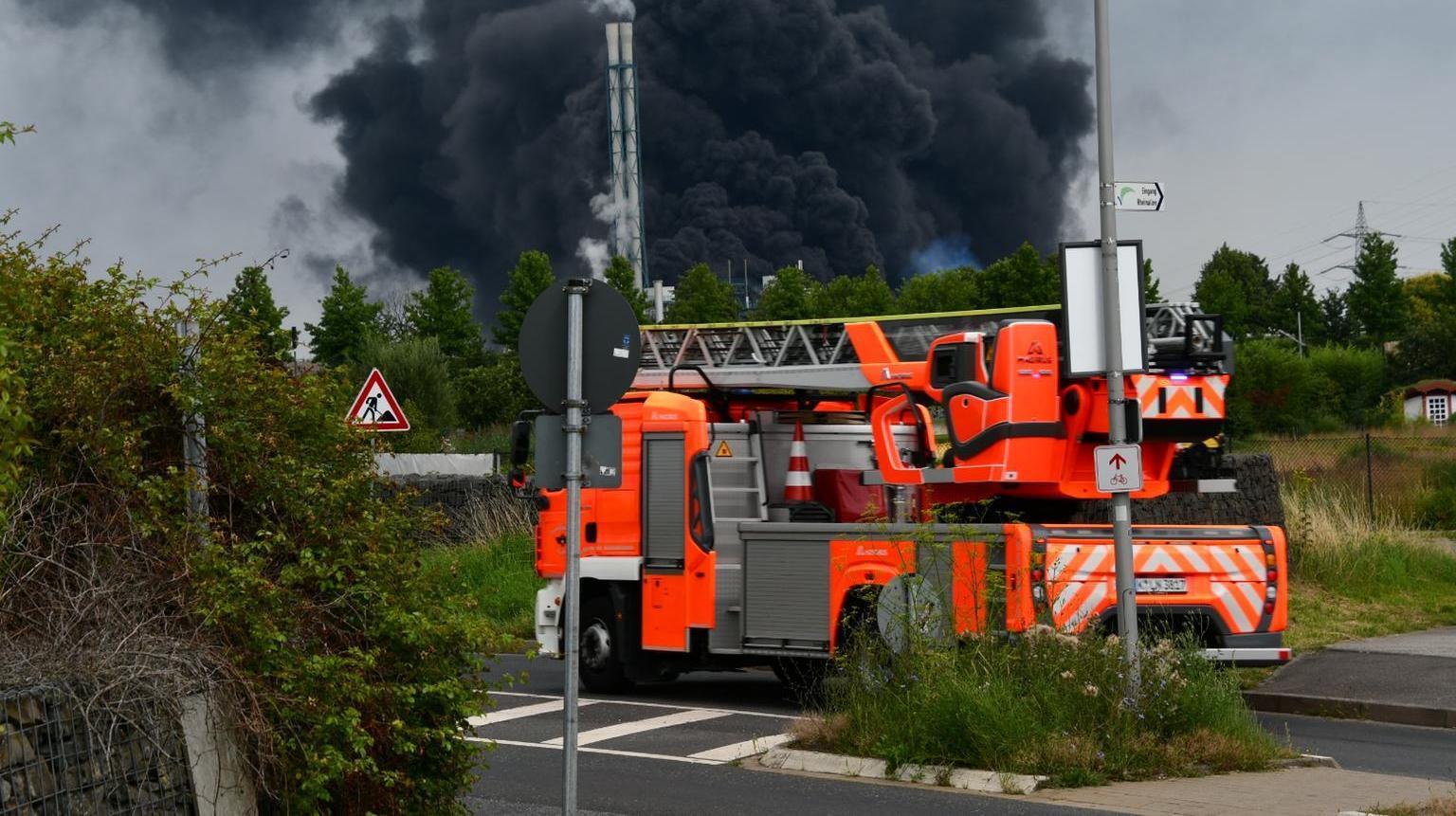 Leverkusen esplosione