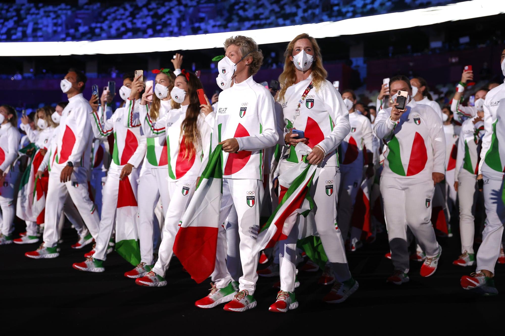 Italia Olimpiadi Tokyo