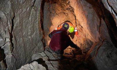 Speleologo Pordenone grotta