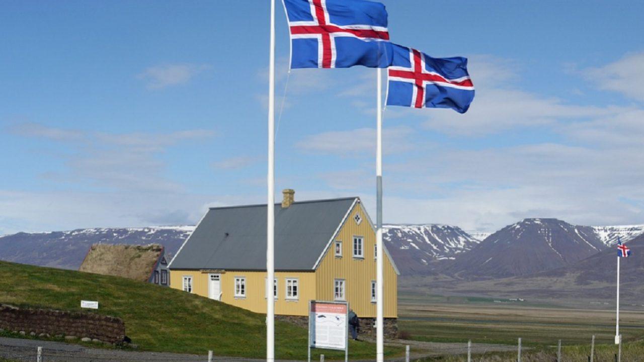 Islanda bandiere