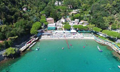 Paraggi Portofino turista americano
