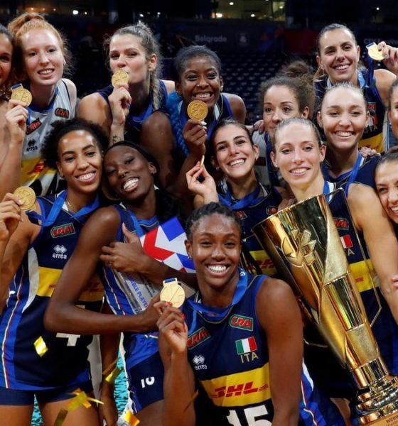 volley femminile italia campione europa