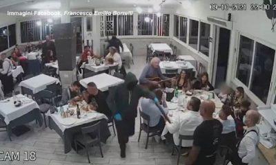 Rapina ristorante casavatore bambini